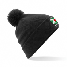 Clonard Water Polo Bobble Hat - Black 2018